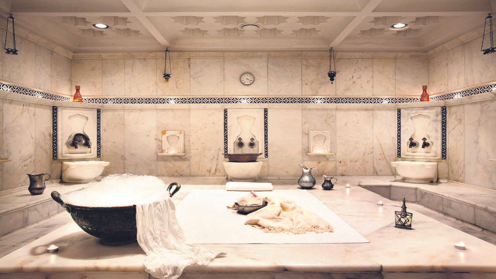 turkish relaxing bath