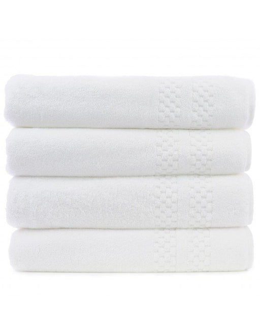 Checkered Bath Towels, 100% Premium Cotton