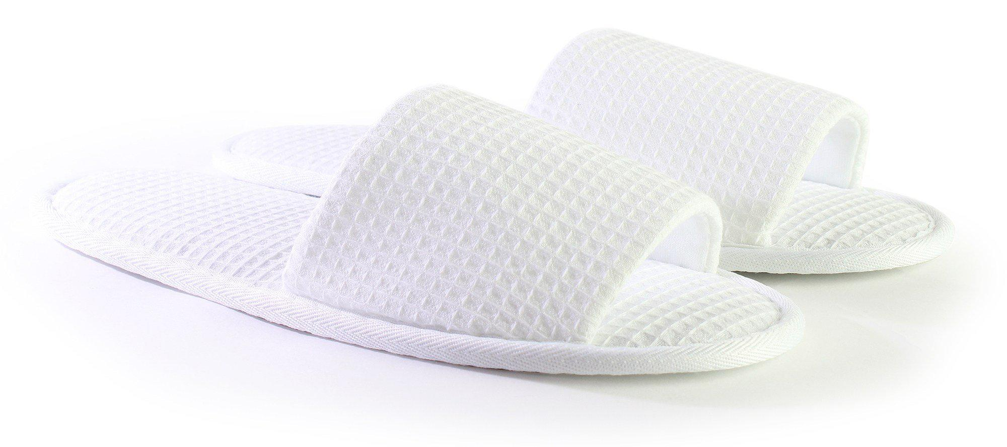 cddfd103ba7f Adult Open Toe Waffle Slippers. Click or scroll to zoom