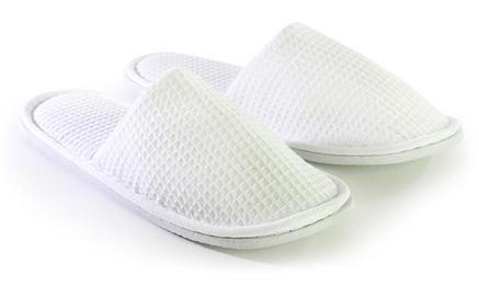 Adult Closed Toe Waffle Slippers