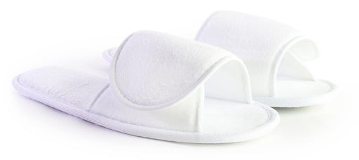Adult Velour Adjustable Slippers