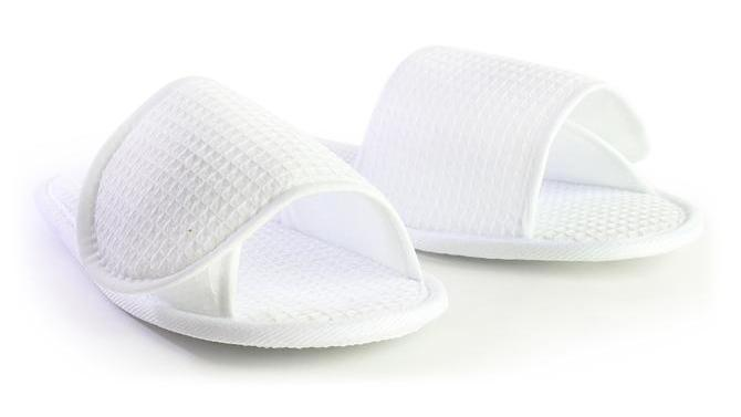 Adult Waffle Adjustable Slippers
