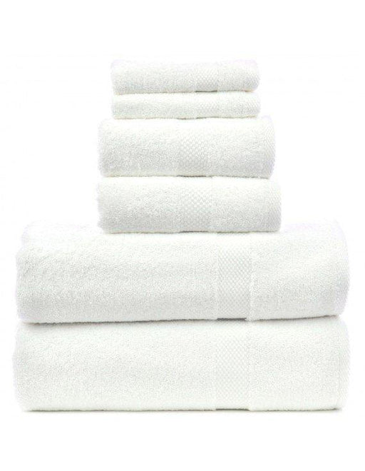 Honeycomb Towel Set, 100% Turkish Cotton, 6 Pack