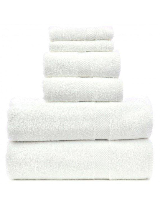 Honeycomb Towel Set, 100% Premium Cotton, 6 Pack