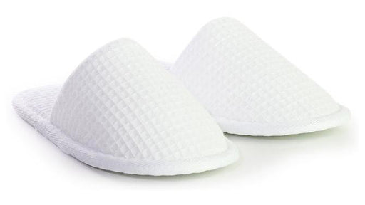 Kids Closed Toe Waffle Slippers