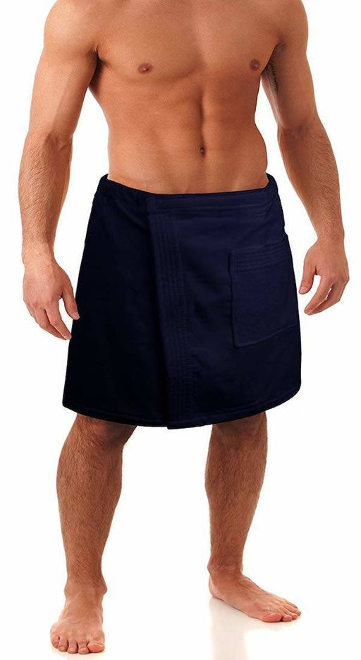 Men's Terry Velour Body Wrap