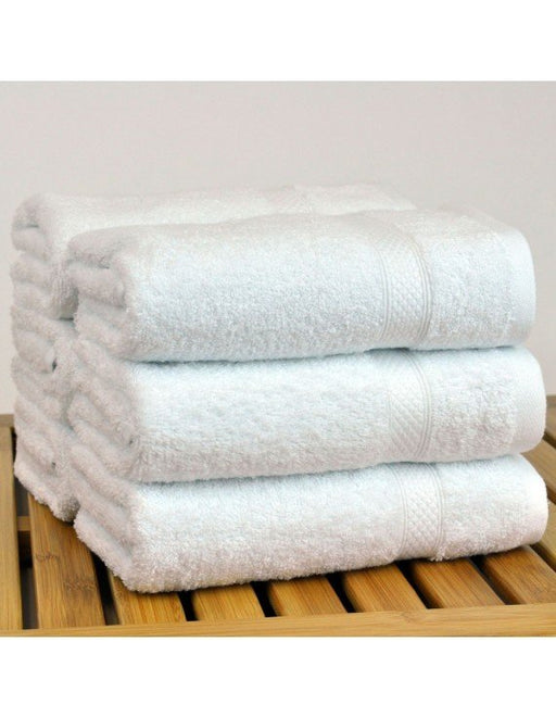 Bamboo Towel Set, 100% Turkish Cotton, 6 Pack