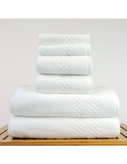 Checkered Towel Set, 100% premium Cotton, 6 Pack
