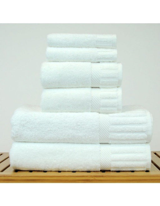 Piano Towel Set, 100% Turkish Cotton, 6 Pack