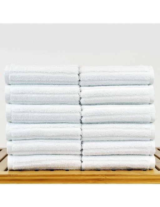Striped Washcloths, 100% Premium Cotton