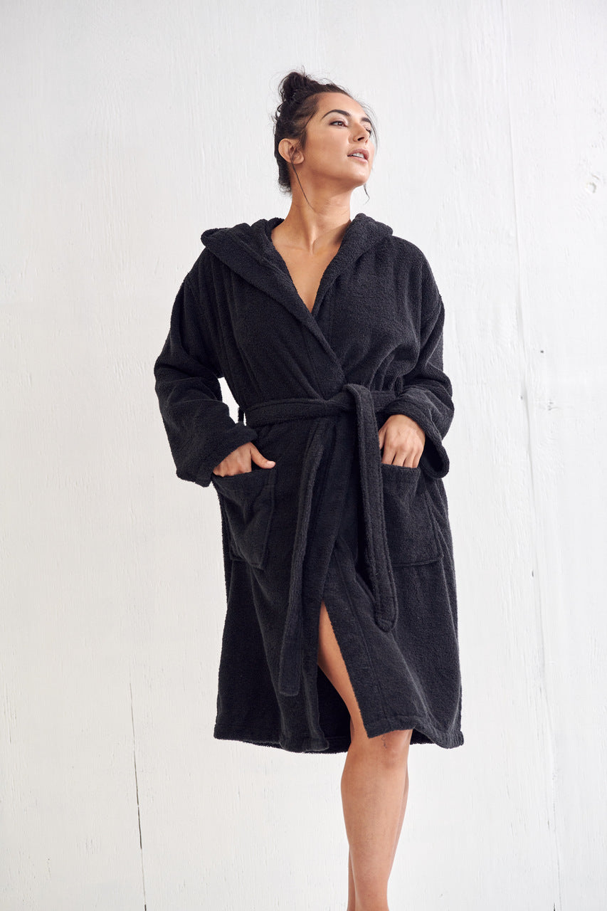 Velour Hooded Robes
