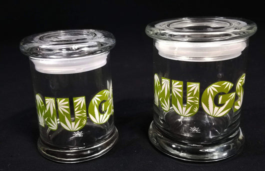 Smell Proof Glass Pop Top Jars The Good Lettuce Tgl