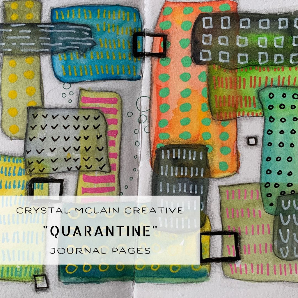 Quarantine - Passing time in my journal