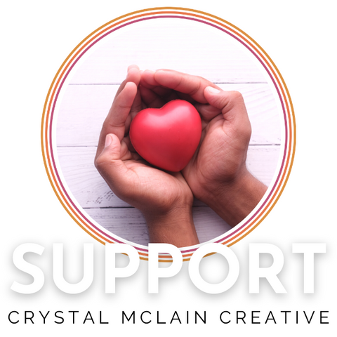 CRYSTAL MCLAIN CREATIVE SELF CARE PODCAST UNLOCKING WELLNESS SUPPORT