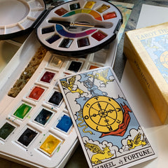 tarot reading for journal prompt wheel of fortune