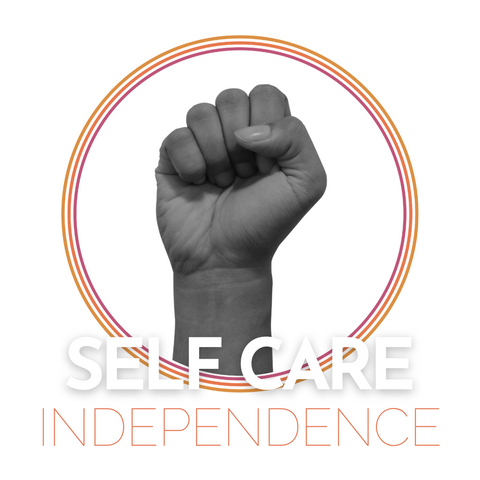 CRYSTAL MCLAIN CREATIVE SELF CARE INDEPENDENCE
