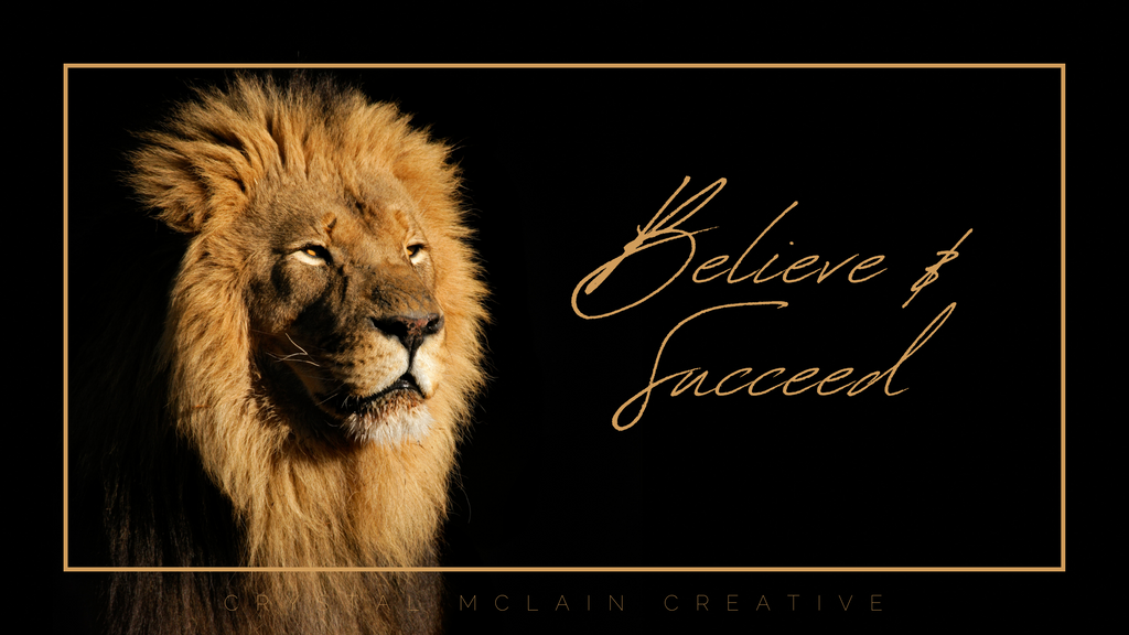 CRYSTAL MCLAIN CREATIVE MOTIVATIONAL POSTER CHEESEY
