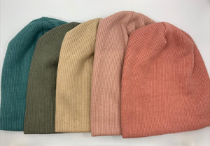 Winter Thick Ribbed beanie