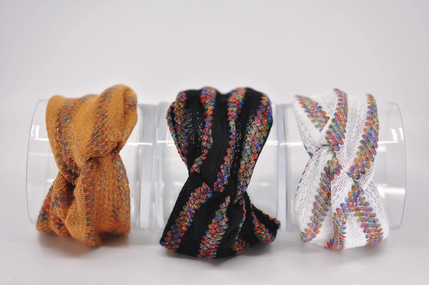 Multi knit Turbans