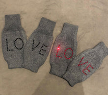 ES X BB Thin wool LOVE gloves