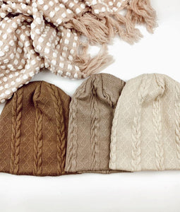 Rope cable Beanie