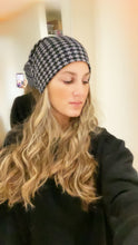 Rachel Ostroy x BB (for Pink Label) houndstooth beanie