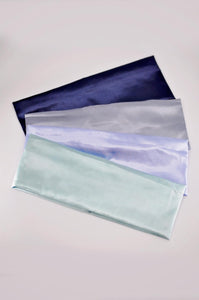 Soft satin bands-flat