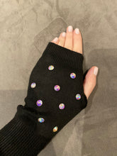 """Unicorn"" stud fingerless gloves"