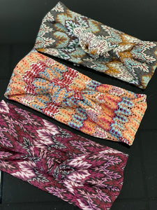 Fall Missoni Knot Bands