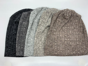 Heather stretch Rainbow Beanie
