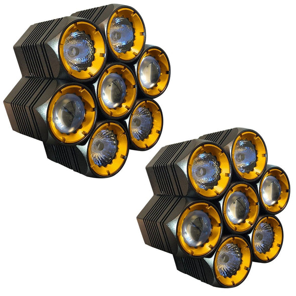 Off-Road LED - APS 7in1 LED Light Pods - 14,000 Lumen pair