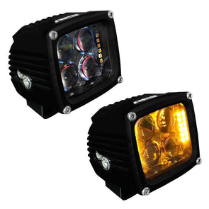 An image of a pair of APS LED accent off-road driving lights