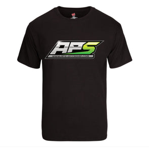 APS SHORT SLEEVE SHIRT (MEN'S BLACK)