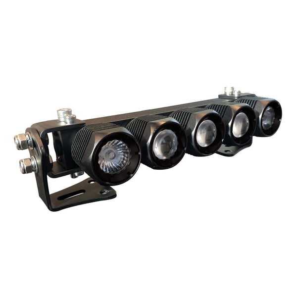 "An expandable 10"" vehicle LED light bar from APS"