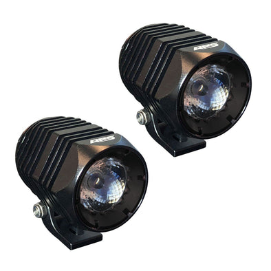 Round LED light pods from APS