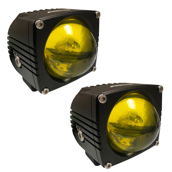 LED Auxiliary Lights - APS Ultra Beam Led Light Pods - 8000 Lumen pair
