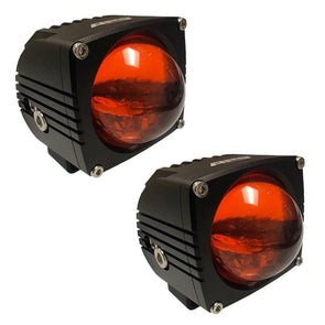 APS ULTRA BEAM AMBER LED LIGHT PODS