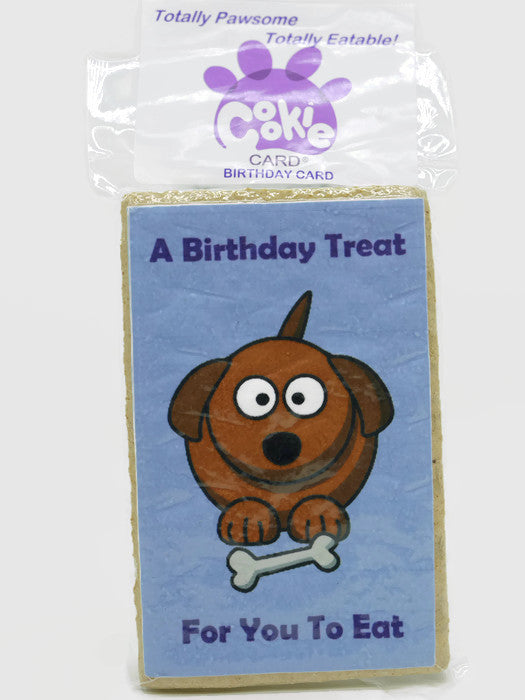 Cookie Card - Birthday Card - 6 cards to choose from!