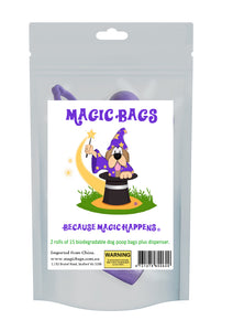 Magic Bags – 2 rolls of dog poop bags