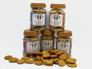 Mad Dog Cookie Jars - 5 Flavours x 400g