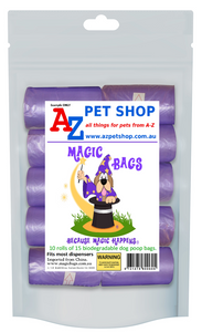 Magic Bags – 10 rolls of dog poop bags