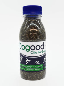 Dogood Chia seed for Dogs in a 220g bottle