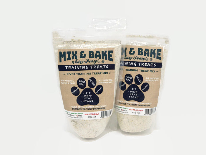Mix & Bake Training Treats Premix - 2 X 420G Bags