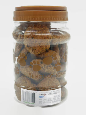 "Mad Dog Beef & Liver Cookie Jar – ""Everyday Treat"" - 400g"
