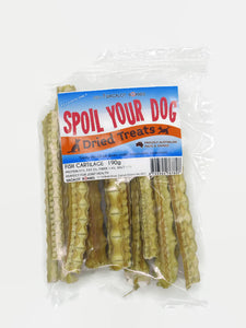 Spoil Your Dog Fish Cartilage 190 grams in a resealable bag