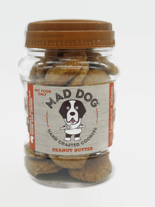 "Mad Dog Peanut Butter Cookie Jar – ""Everyday Treat"" - 400g"
