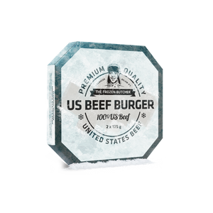 US Beef Burger | The frozen Butcher