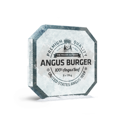 Planet Meat Angus Burger the frozen butcher