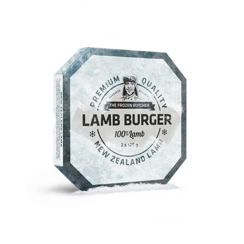 Planet MEat LAmmburger the frozen butcher
