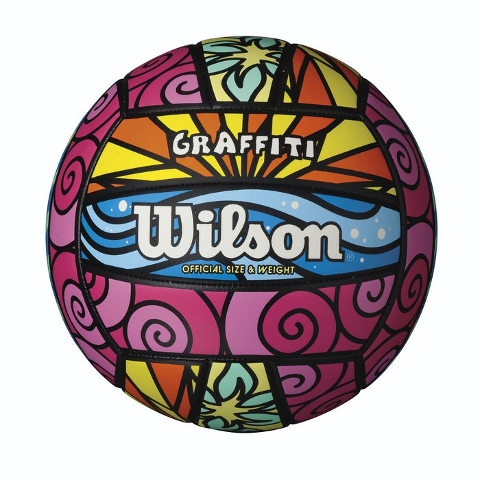 Wilson Graffiti Volleyball: WTH4634ID